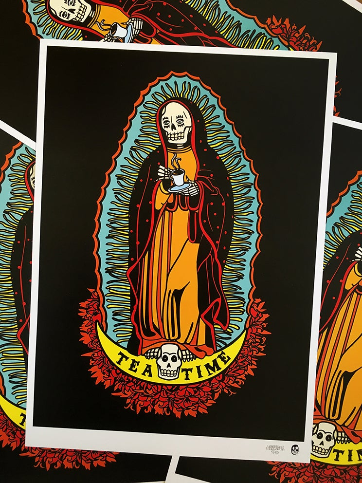 Image of SANTA MUERTE COLLECTION A3