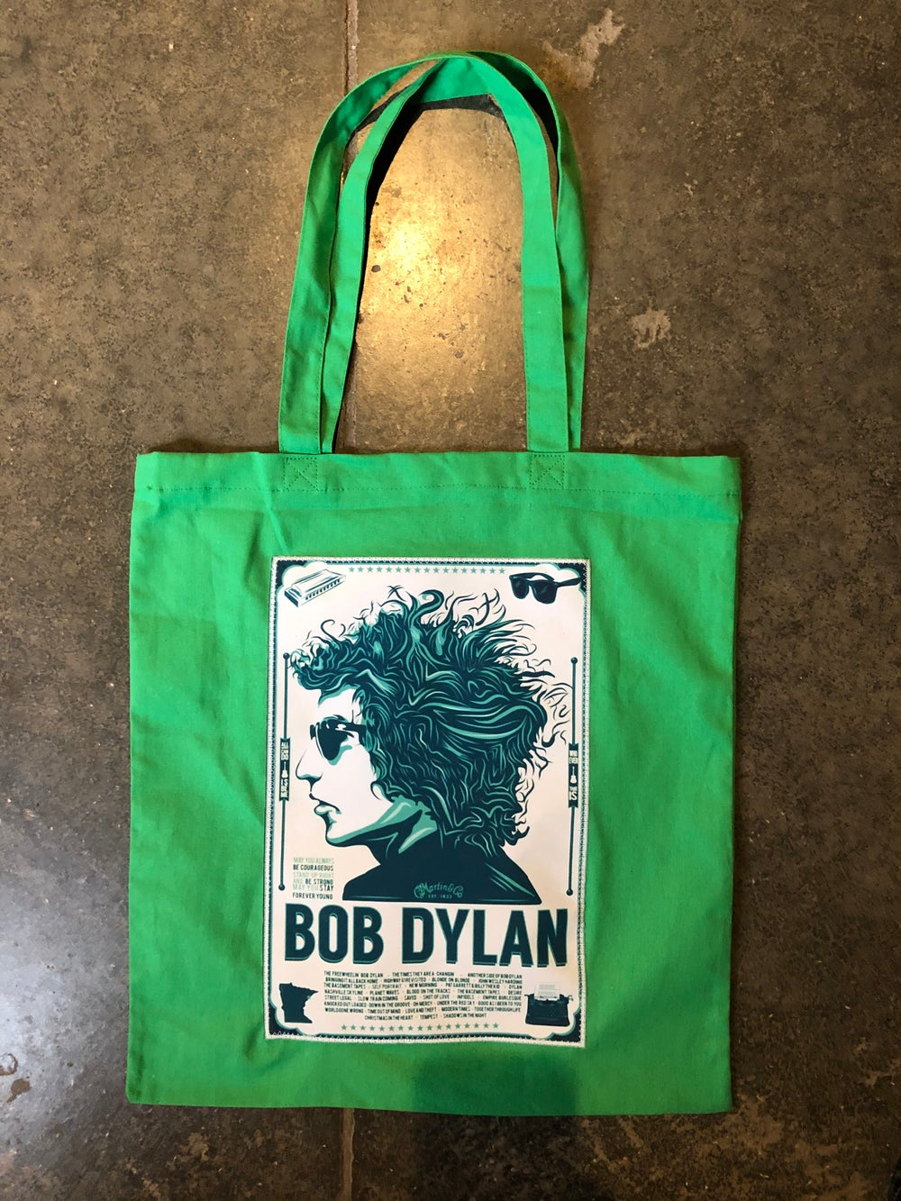Canvas totes w/silk patch (group 2)