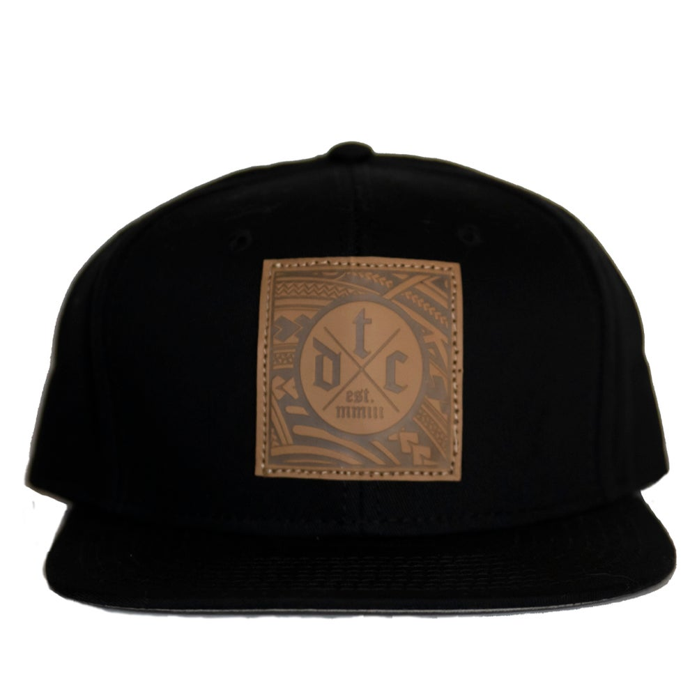 Image of Faux Leather SnapBack
