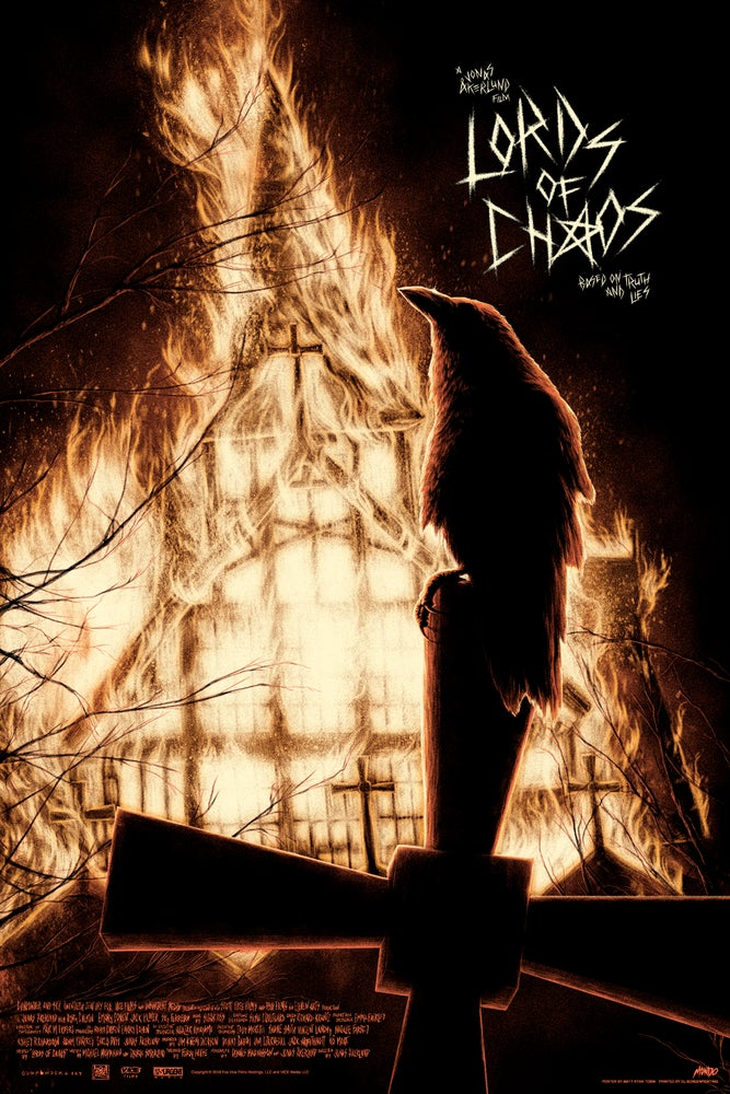 Image of LORDS OF CHAOS - REGULAR EDITION - MONDO