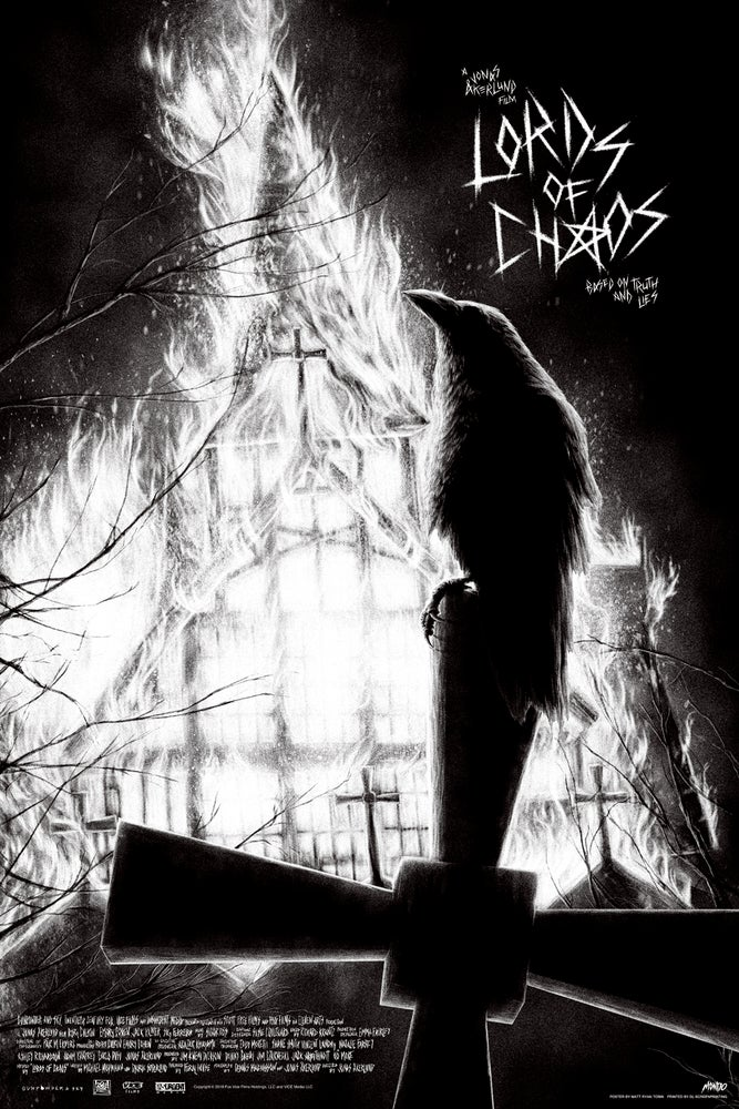Image of LORDS OF CHAOS - VARIANT EDITION - MONDO