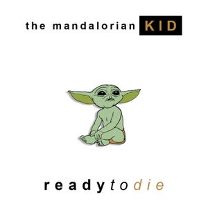 Image of The Mandolorian Kid tee