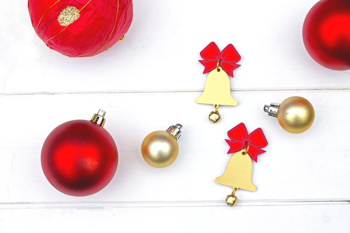 Image of Christmas Bell Earrings
