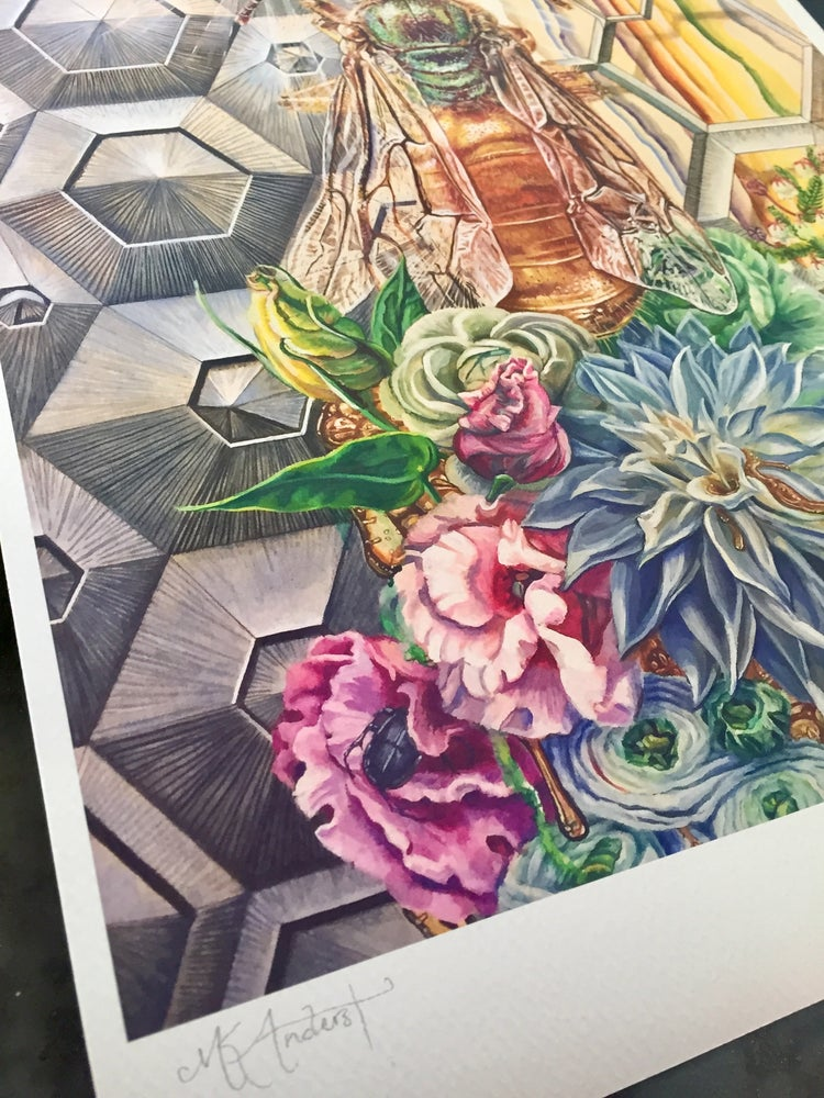 Image of Limited Edition Print ~ Lisianthus Dream