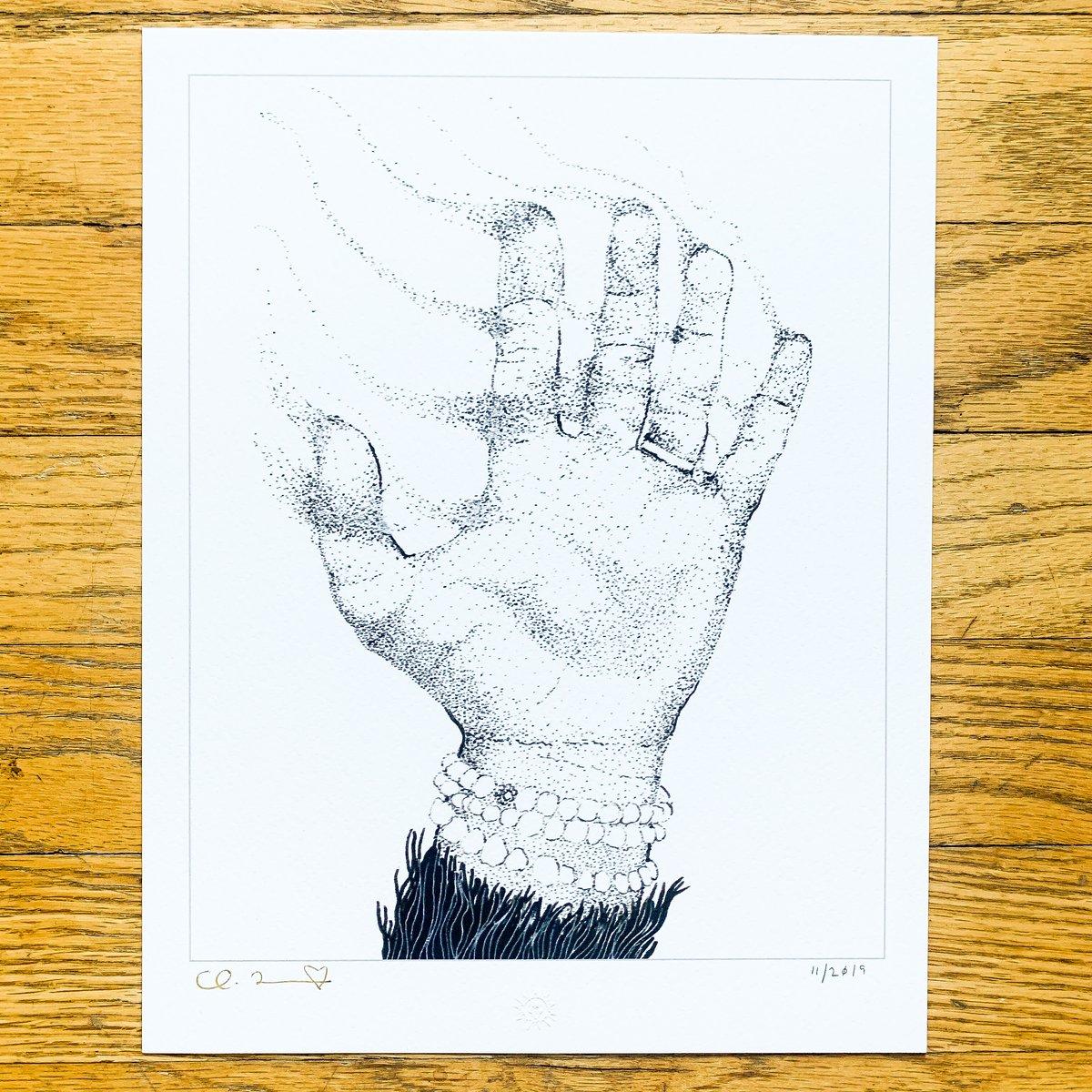 "Image of ""Disintegration 002"" 8.5""x11"" Giclee Fine Art Print"