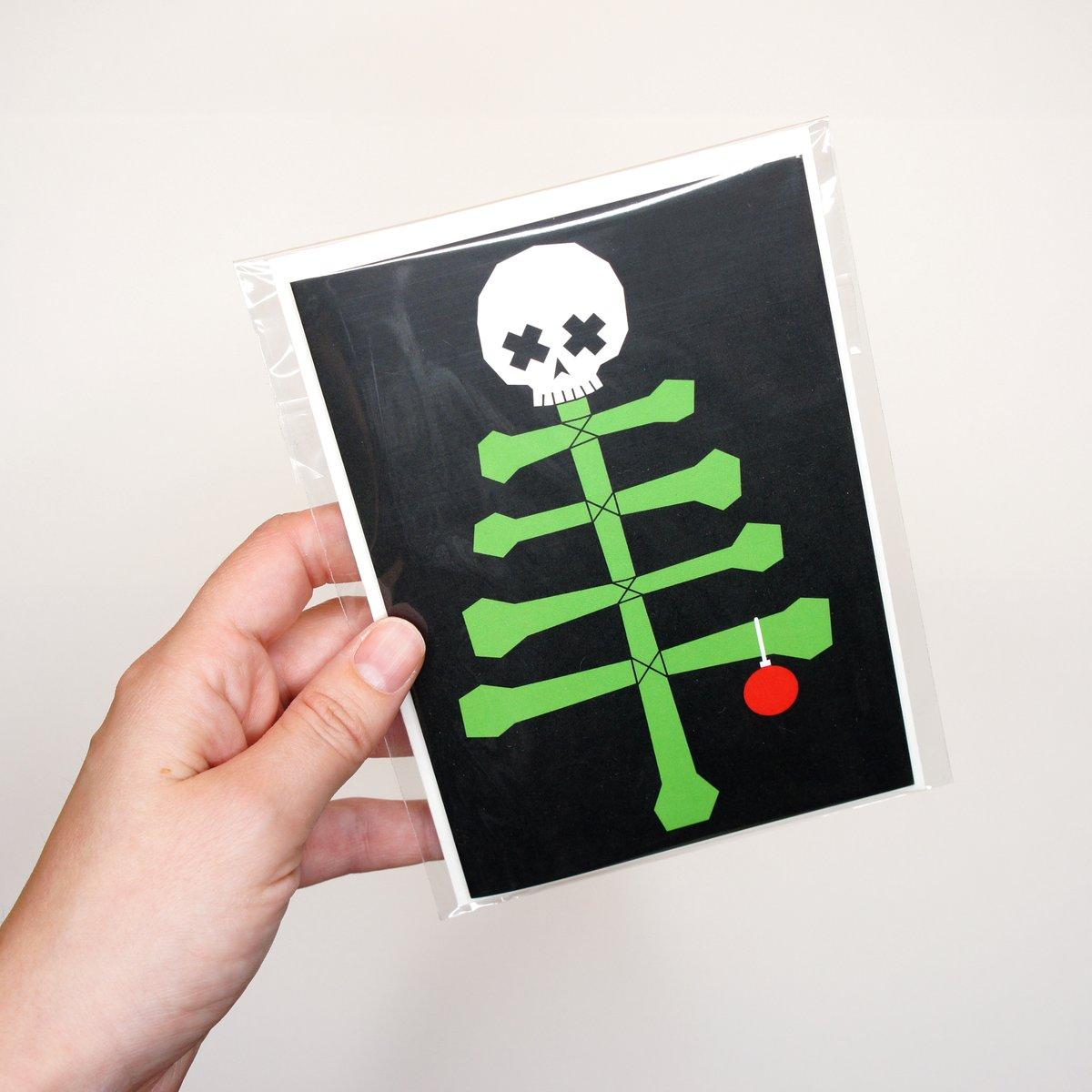 Image of Bone Tree Card