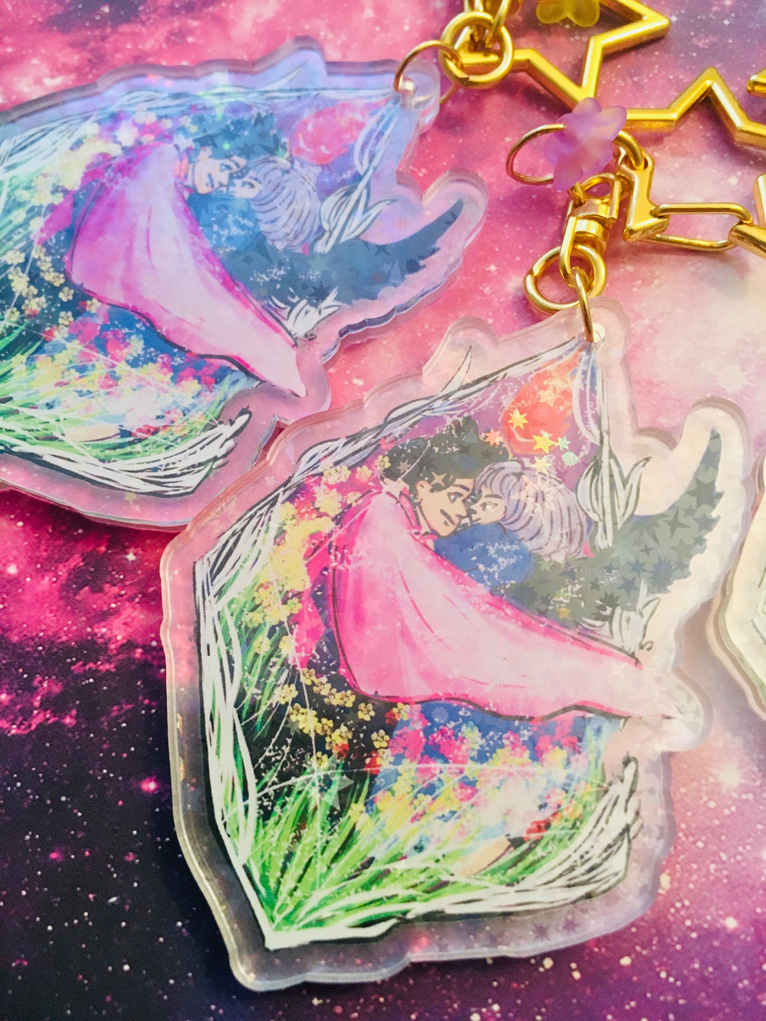 Image of Merry Go Round - Howl x Sophie Charm -
