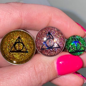 "Image of Hallow Glitter Plugs (sizes 00g-2"")"