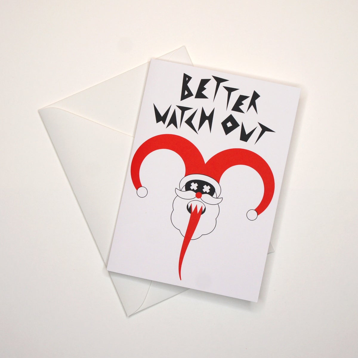 Image of Better Watch Out Card