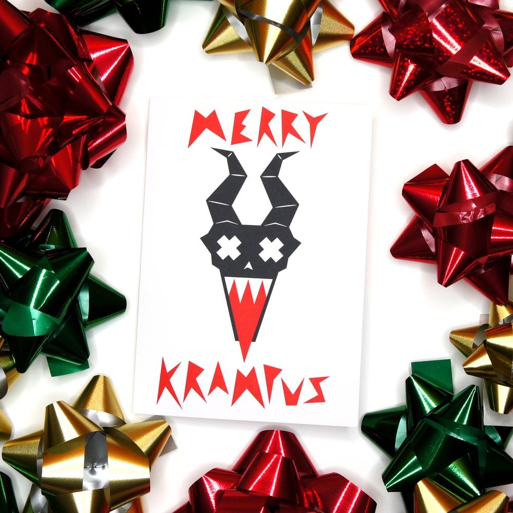 Image of Merry Krampus Card