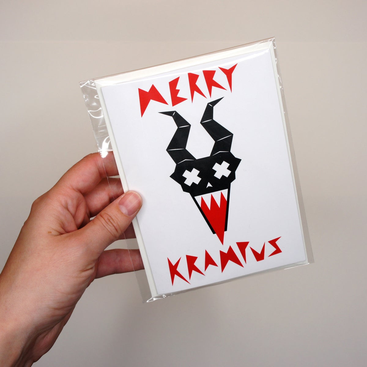 Image of Merry Krampus Card