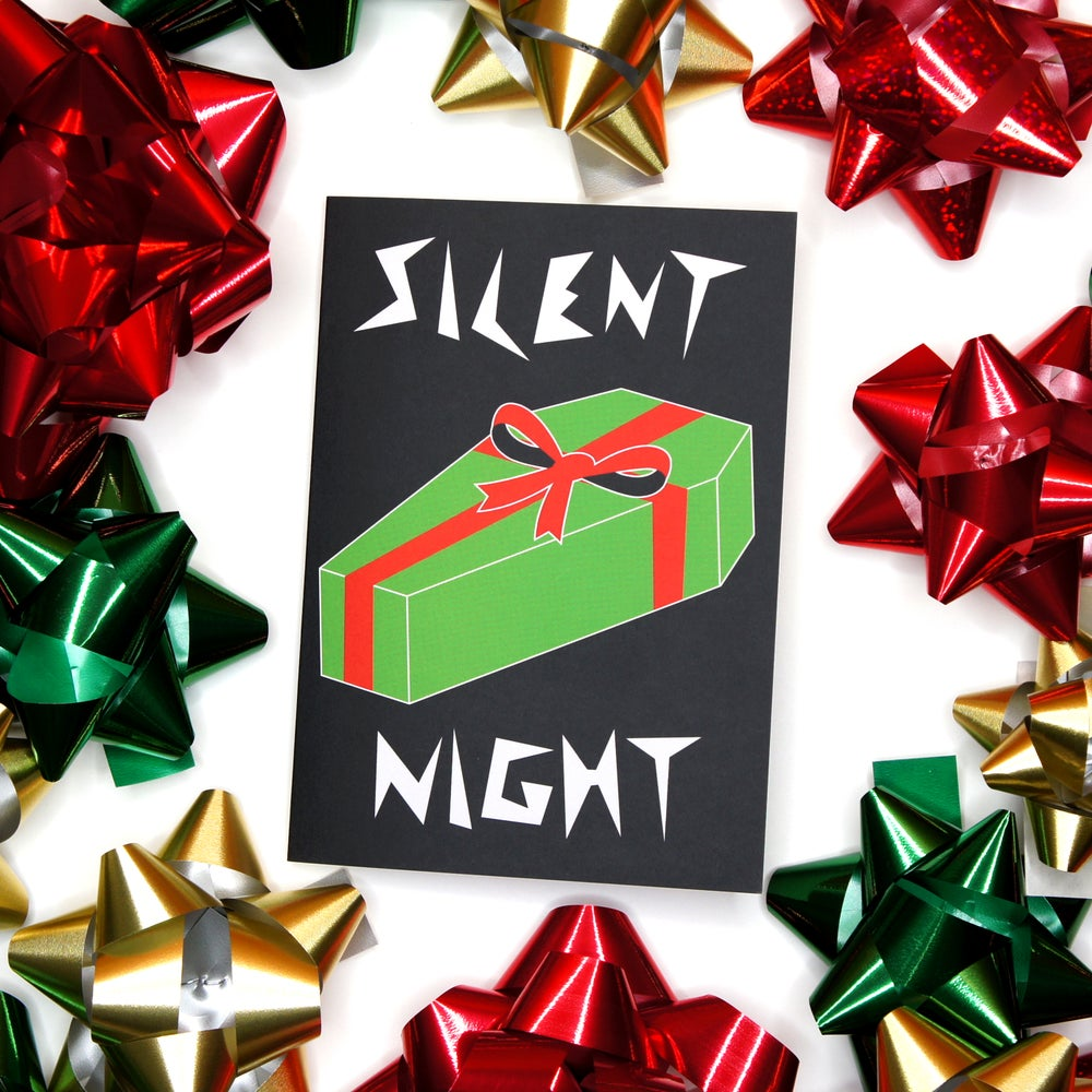 Image of Silent Night Card