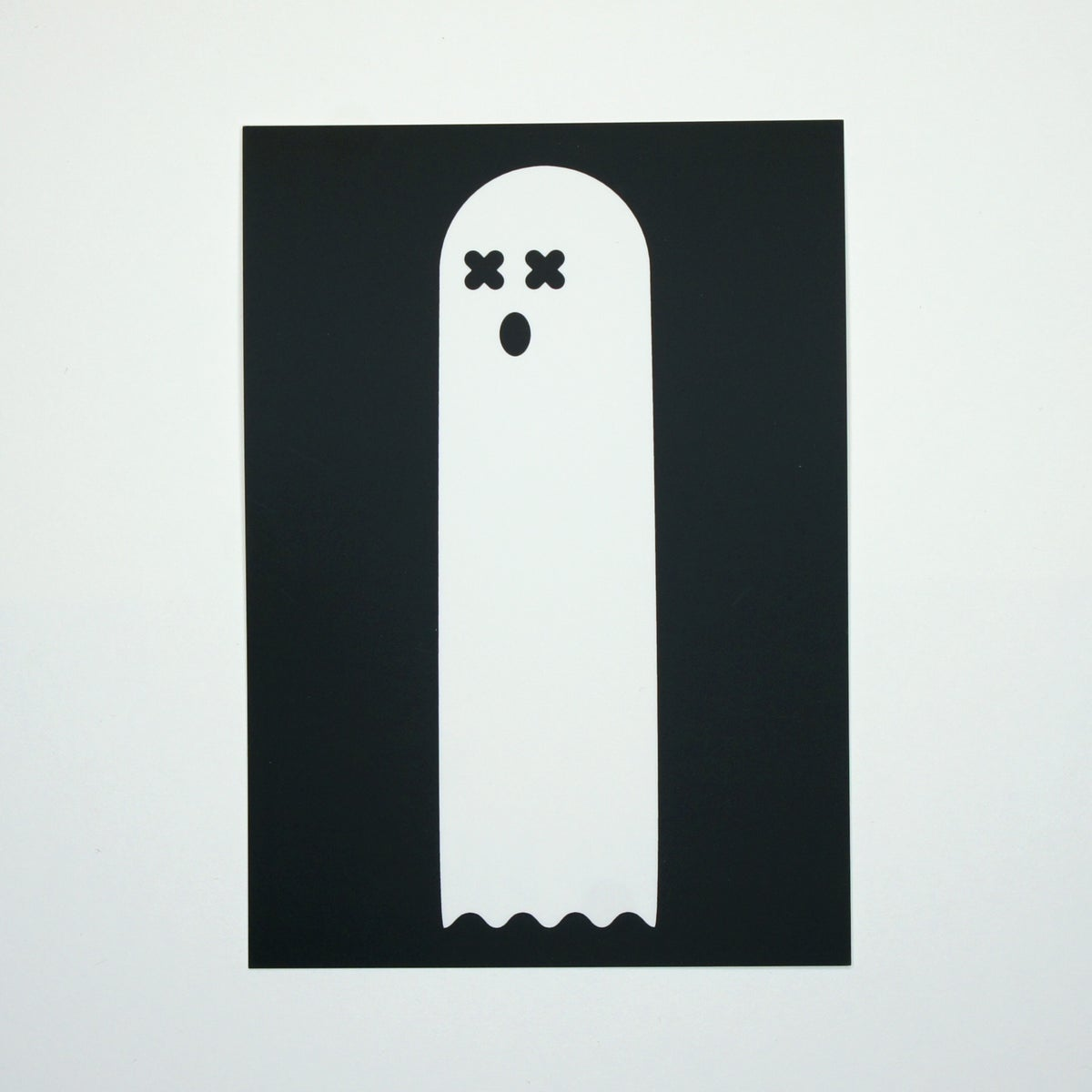 Image of Ghost Mini Print
