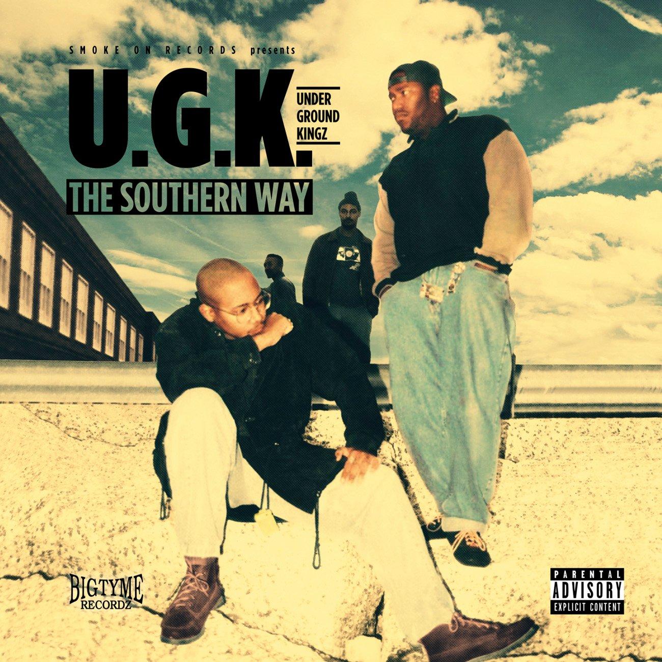 Image of U.G.K. Underground Kingz - The Southern Way CD