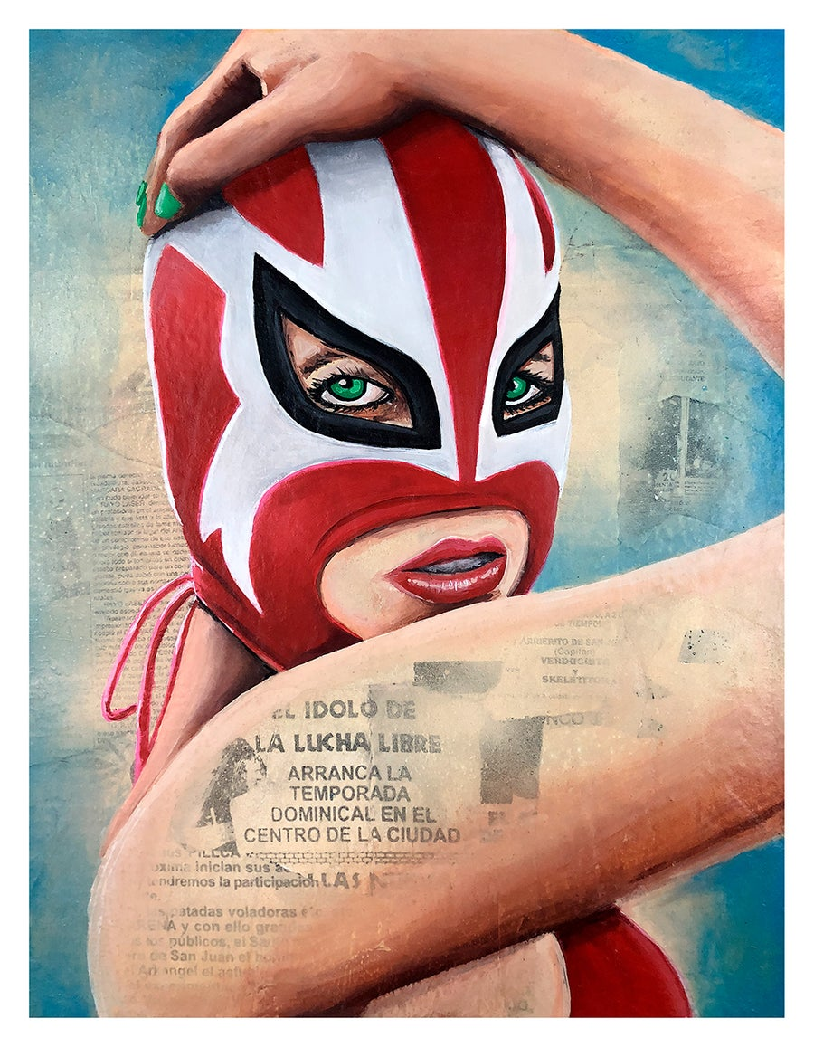 Image of Lucha Girl