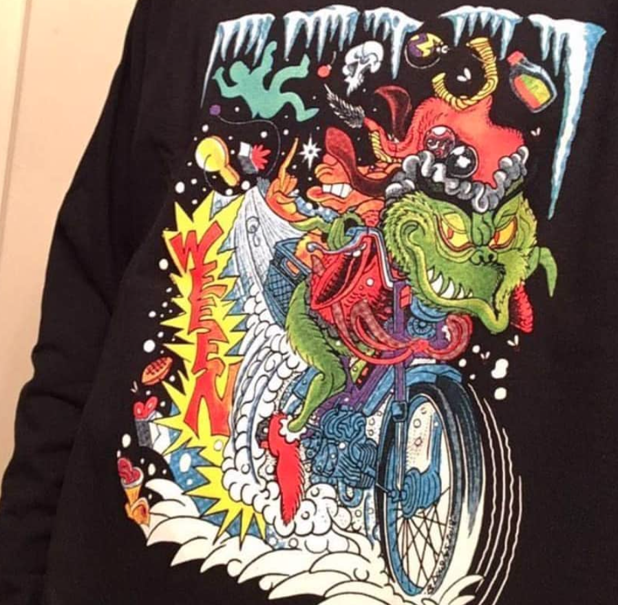 Image of The Grinch Stole My Moped