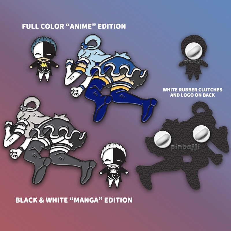 Image of Useless Goddess Aqua + Vanir Pin Set