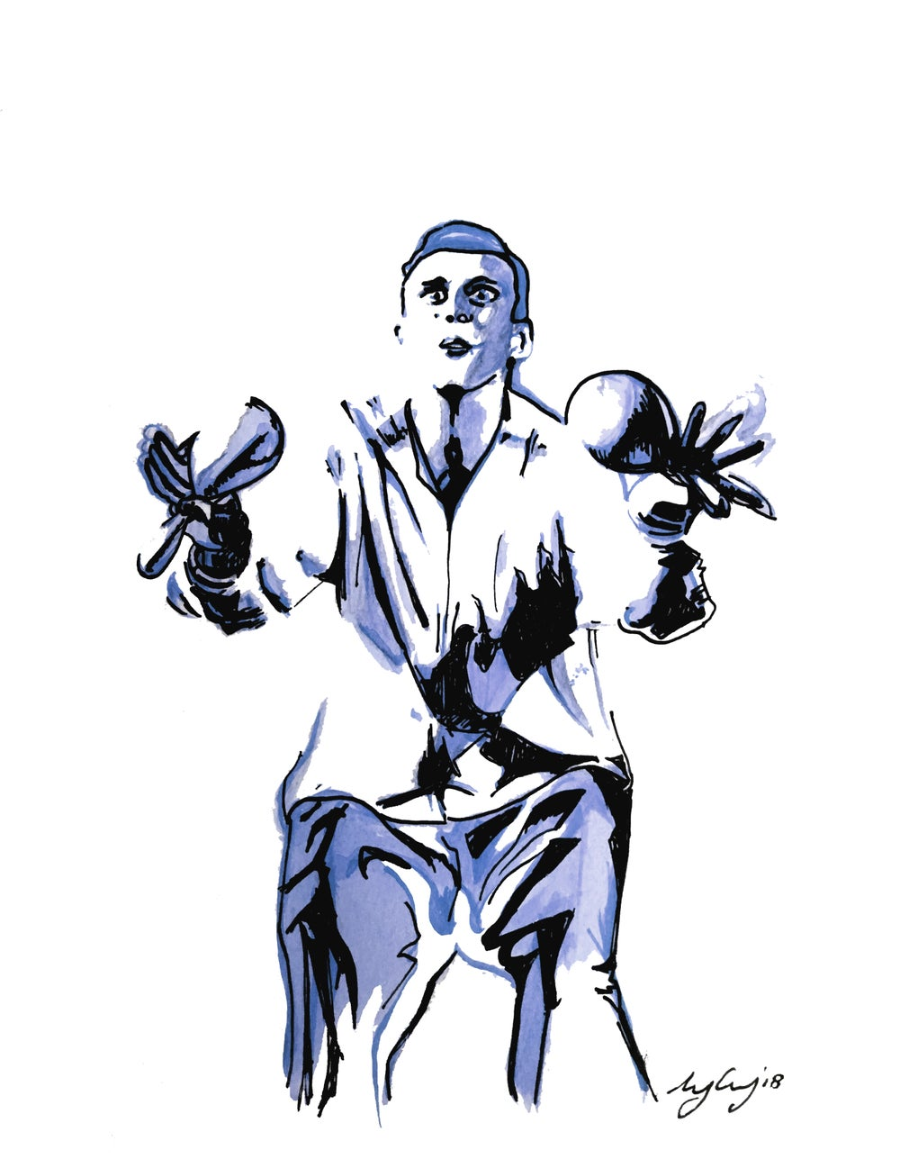 Image of Bez | Happy Mondays | Madchester Print