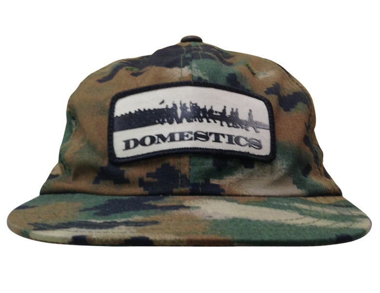 Image of DOMEstics. MADE IN USA Digi Spray Hat