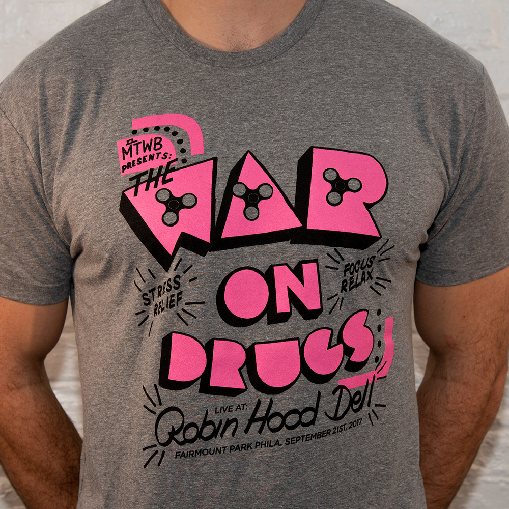 Image of War On Drugs Benefit Concert Tee