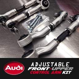 Image of PROJECTB5 - Adjustable Front-Upper Control Arm Kit