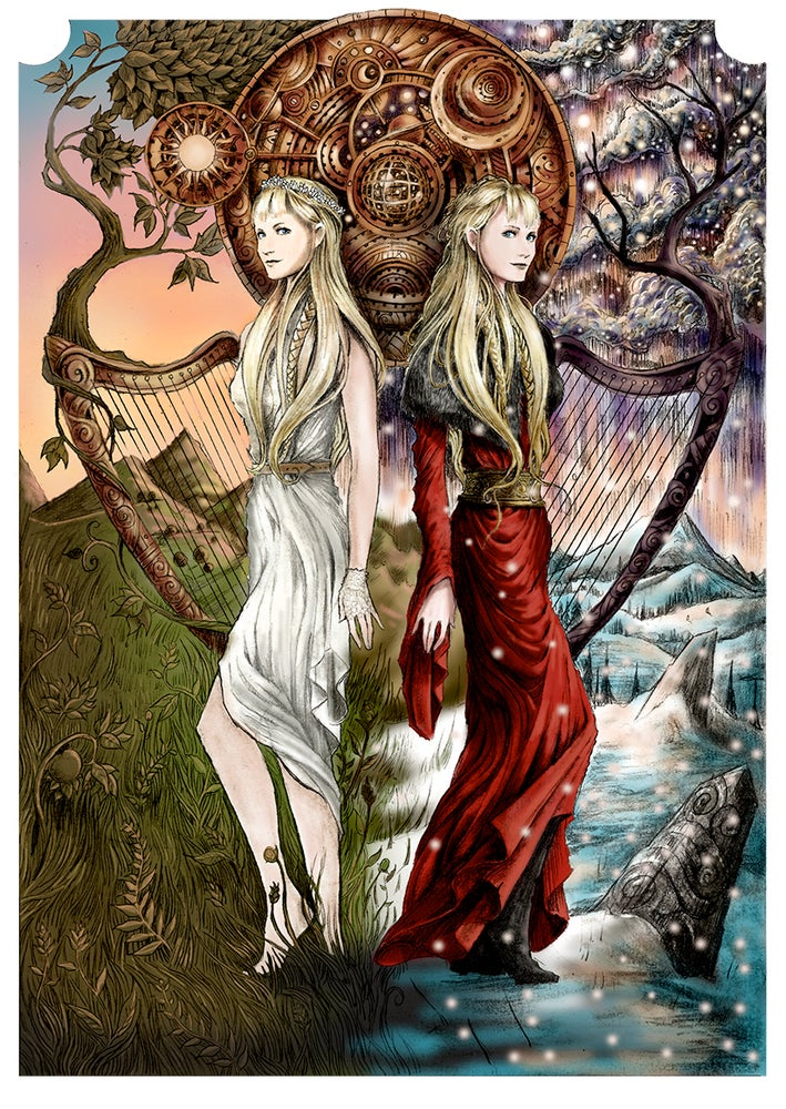 Image of SOLSTICES ARTWORK poster