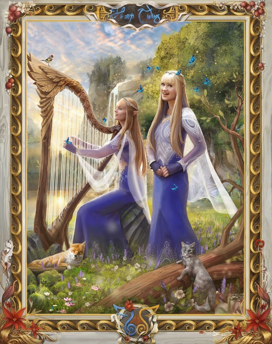 Image of LIGHT ELVES Artwork Print
