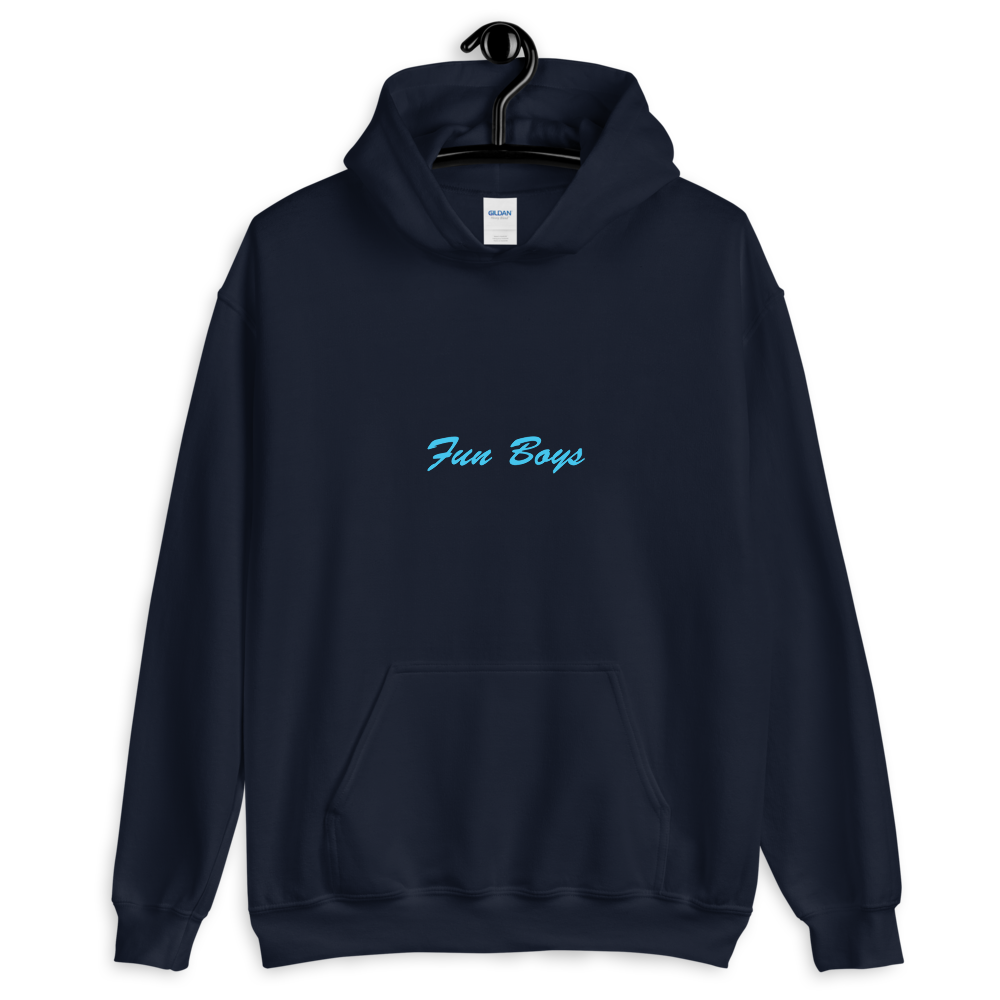 Image of Fun Boys Navy Hoodie