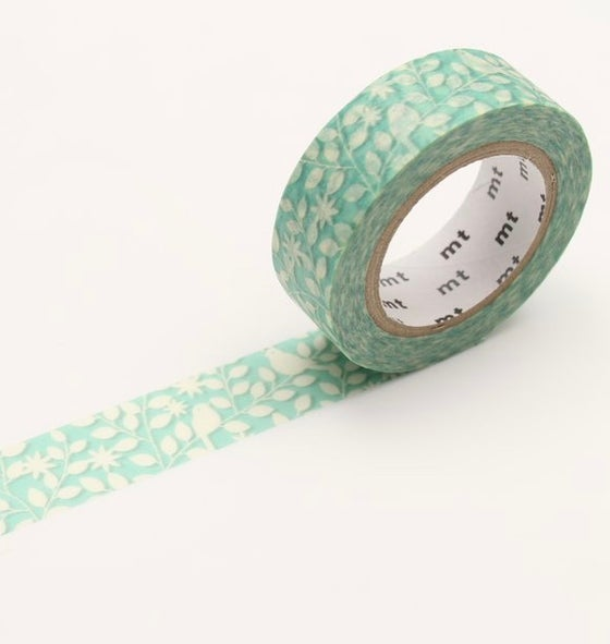 Image of MT Washi Tape - Cutout Leaf & Bird