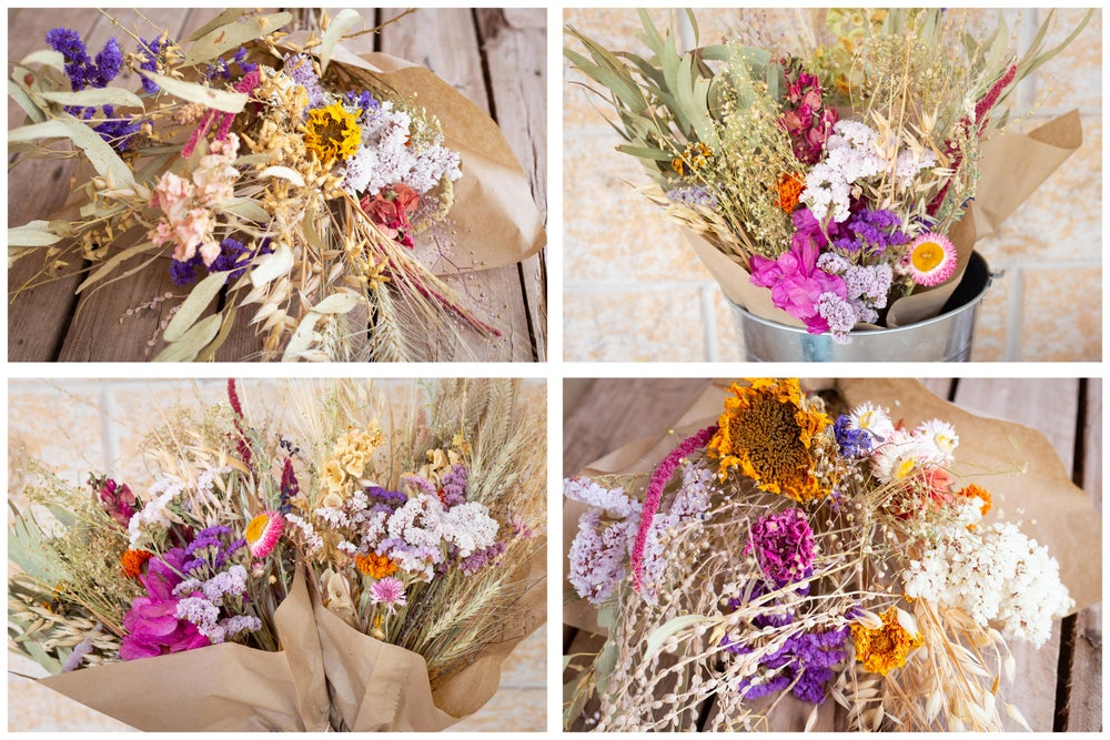 Image of Medium Farmed and Foraged Dried Flower Bunch