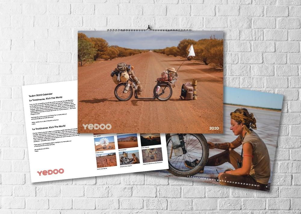 Image of 2020 Calendar. La Trottineuse / Yedoo