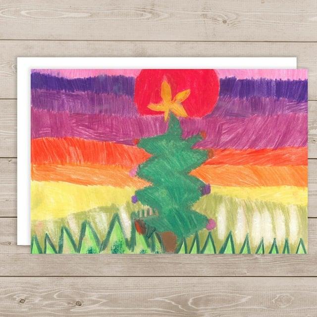 Image of Colorful Christmas - Joy