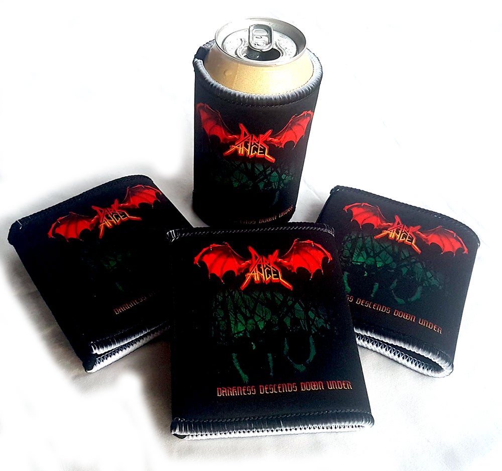 "Image of STUBBY COOLER - Dark Angel ""Darkness Descends Down Under"" Australian Tour 2019"