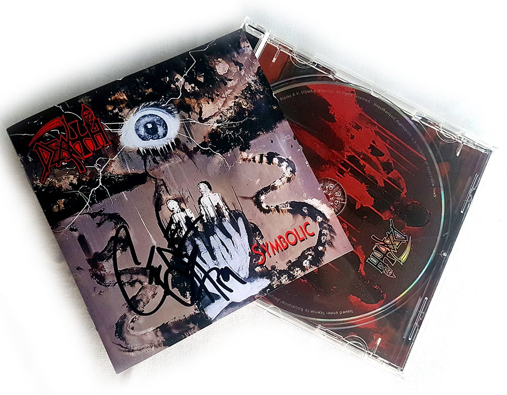 Image of CD (SIGNED) - Death 'Symbolic'