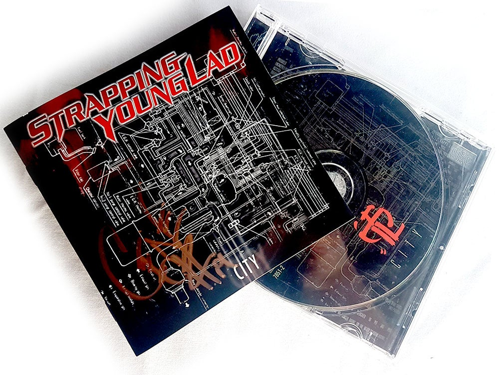 Image of CD (SIGNED) - Strapping Young Lad 'City'