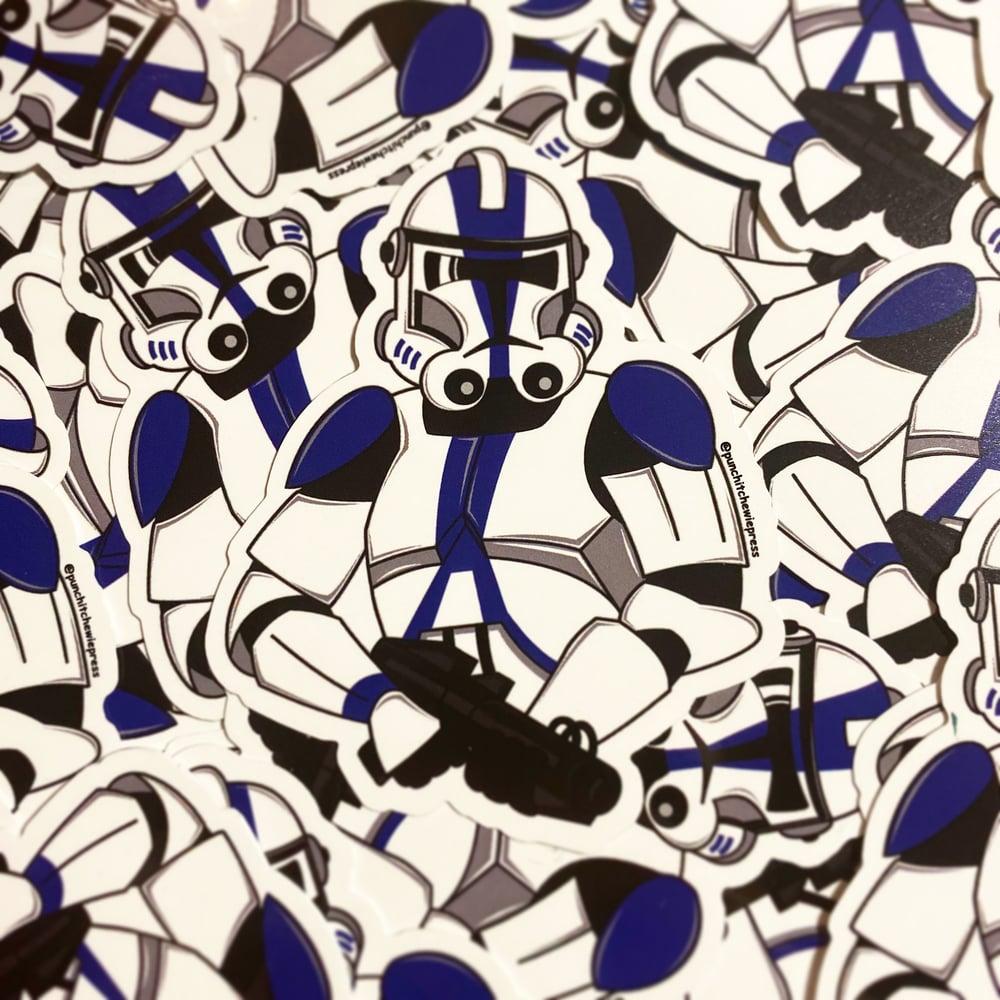 Image of 501st Clone Trooper Sticker