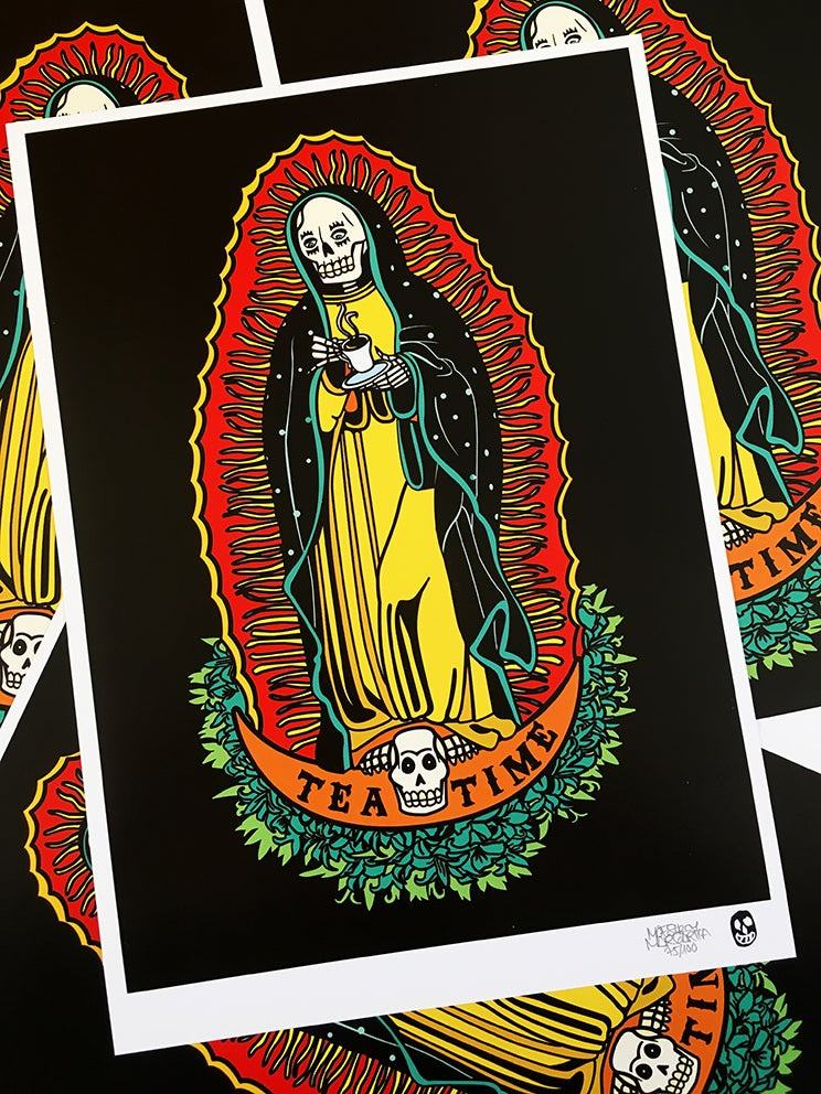 Image of SANTA MUERTE COLLECTION A4
