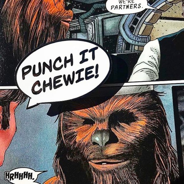 Image of Punch It Chewie!