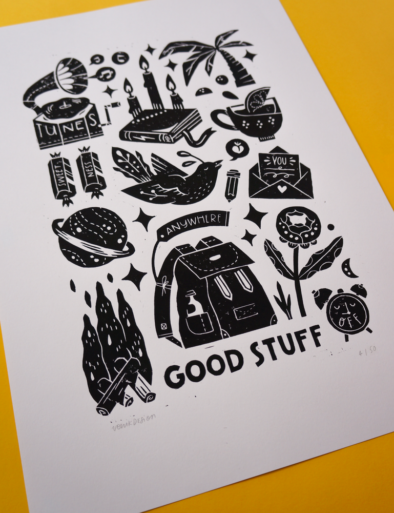 Image of Good Stuff (35x50cm)