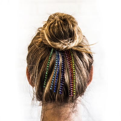 Image of HAIR CRYSTAL LINES