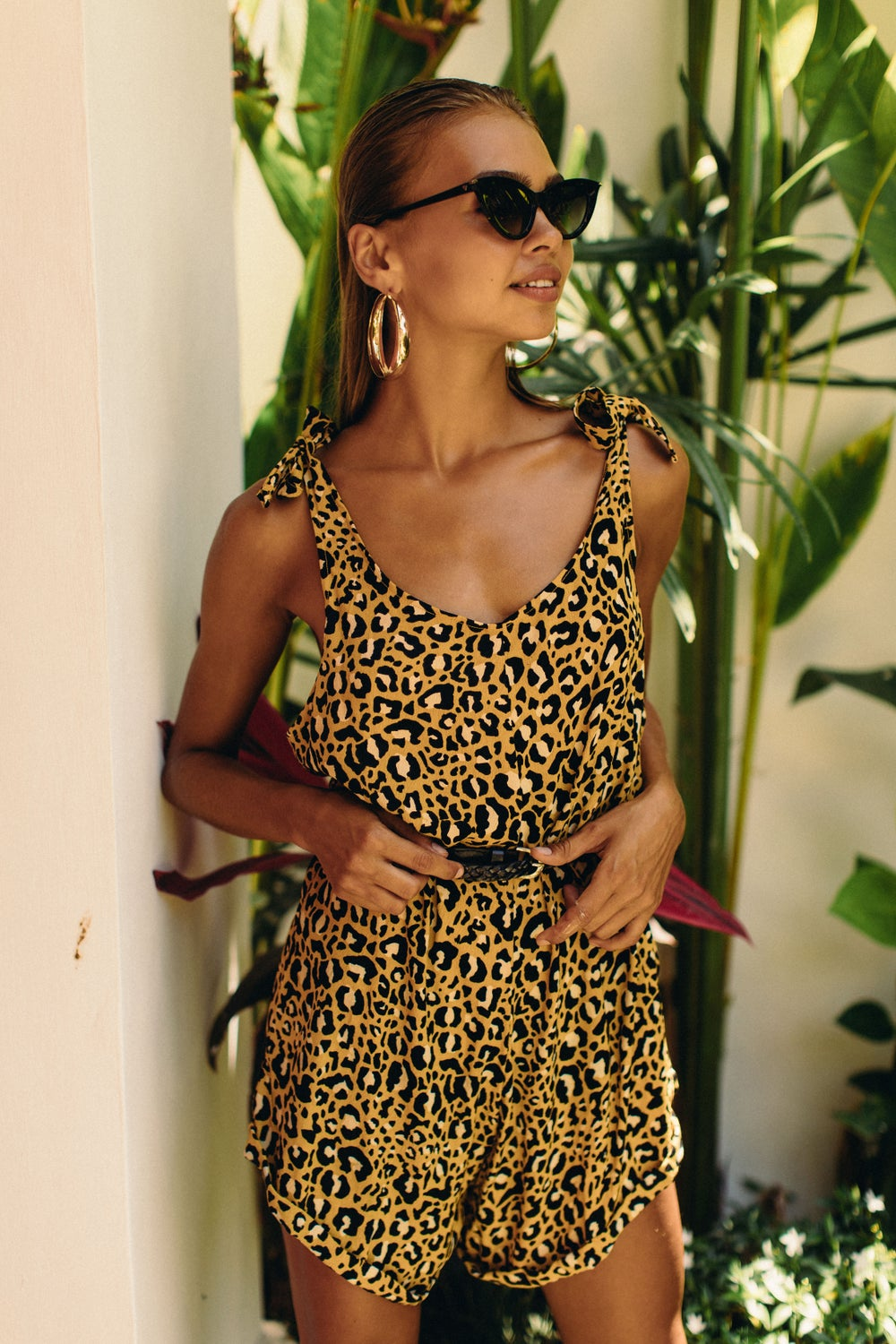 Image of NAPALI PLAYSUIT - SAFARI GOLD