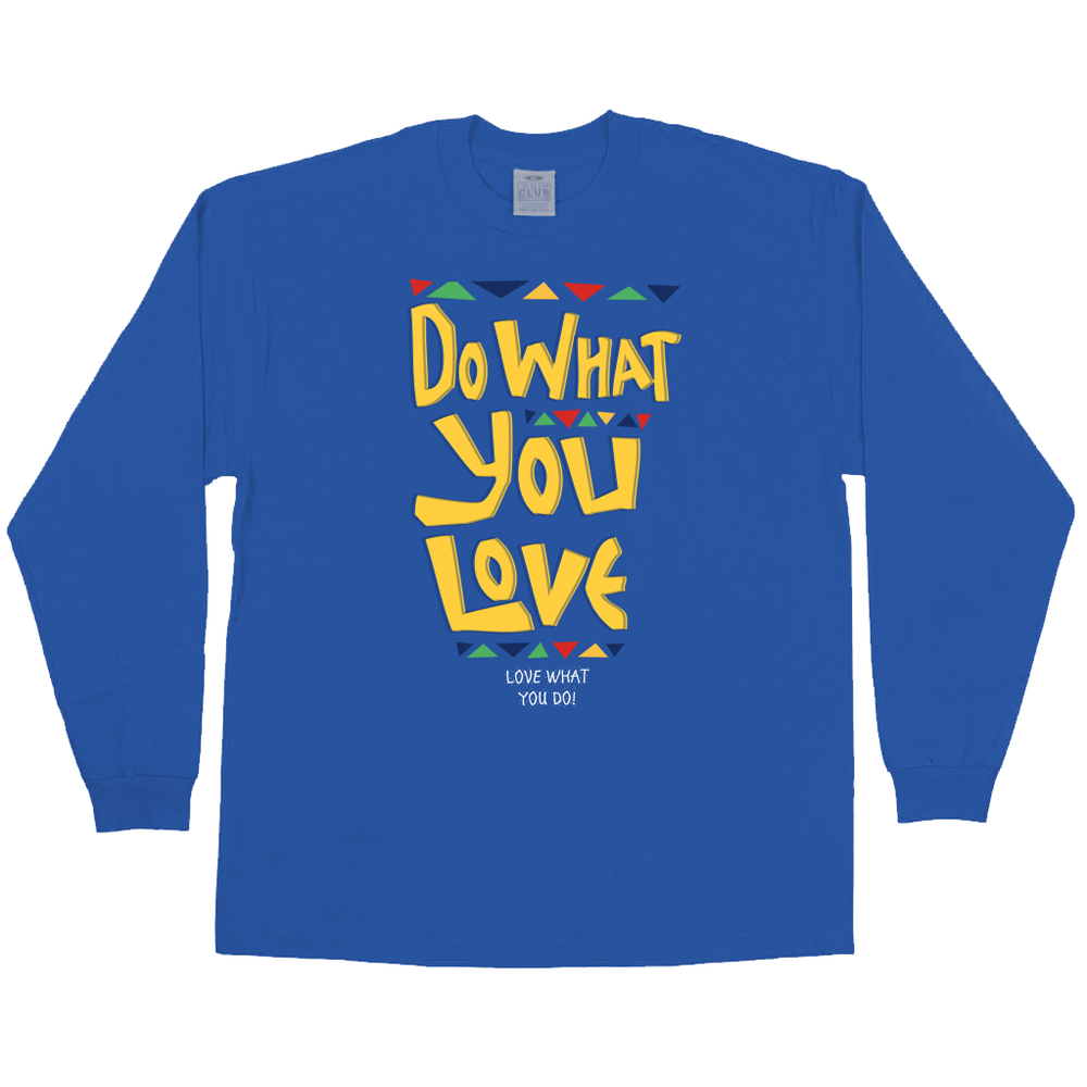 Image of Do What You Love (Royal Blue Longsleeve Tee)