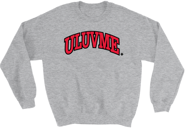 Image of U Luv me (Grey Sweatshirt)