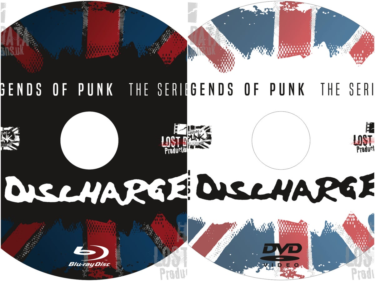 Image of Discharge - Legends of Punk Vol.1 (DVD / BluRay)