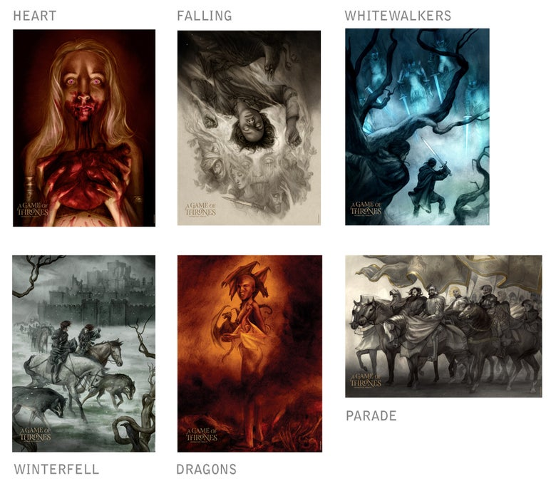 Image of A Game of Thrones - prints
