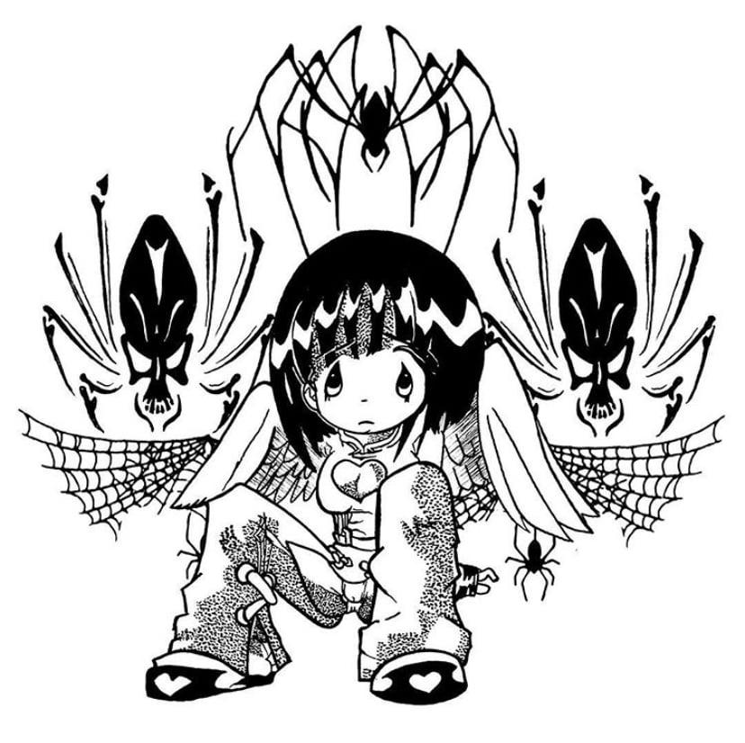 Image of Purgatory /// Arcana' long sleeves