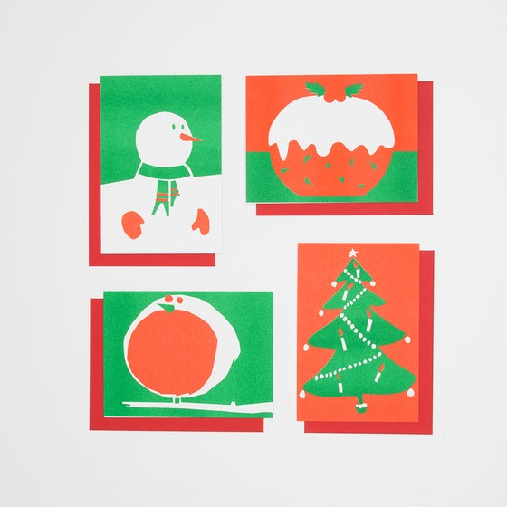 Image of Four pack of Christmas Cards