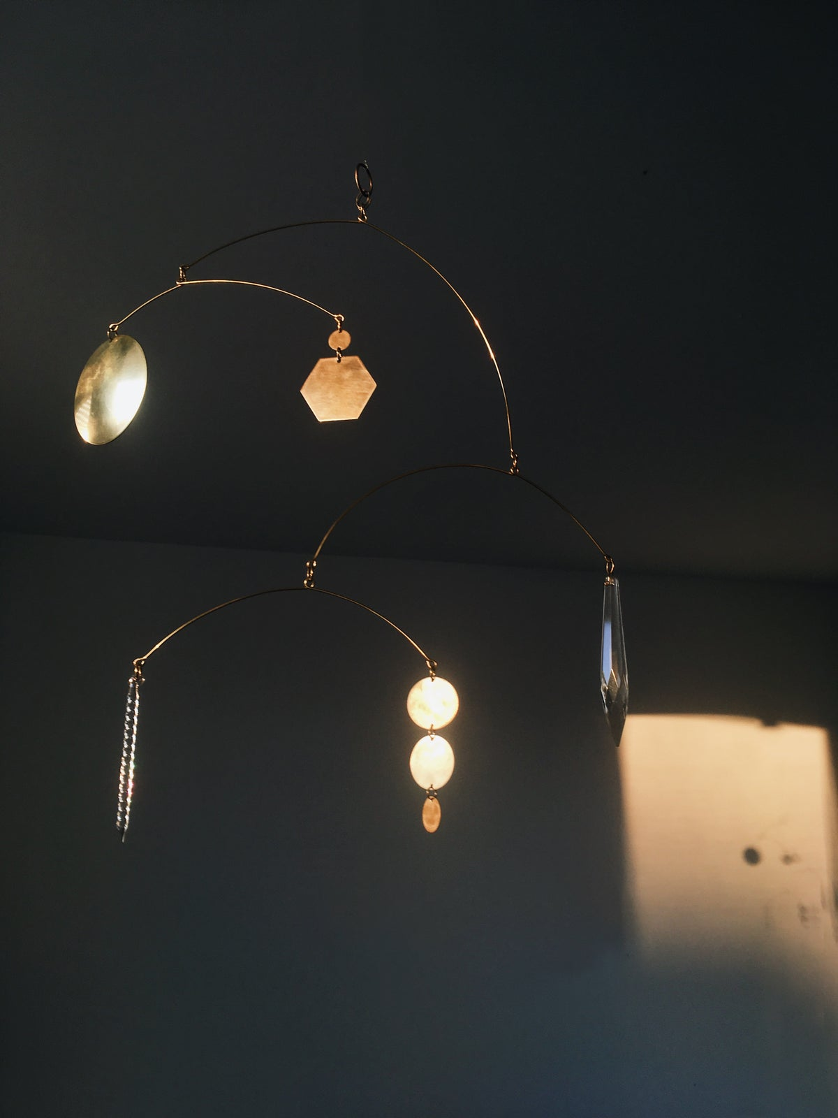 Image of Brass&Glass Kinetic Sculpture 002