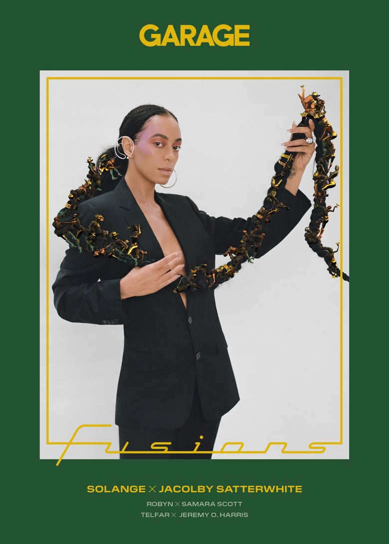Image of GARAGE Issue 17: FUSIONS - Solange x Jacolby Satterwhite