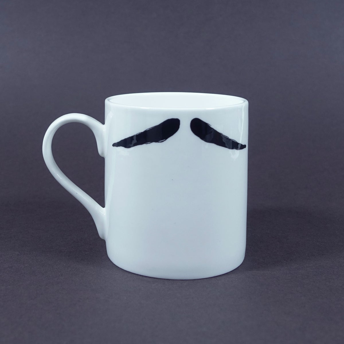 Image of The Inspector Poirot Moustache Mug
